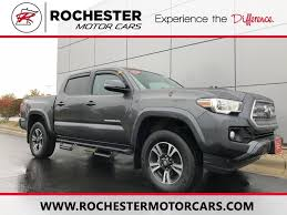 2017 Toyota Tacoma TRD Sport V6 In Rochester, MN | Twin Cities ... New 2018 Toyota Tacoma Trd Sport Double Cab 5 Bed V6 4x2 Automatic 2019 Upgrade 4 Door Pickup In Kelowna Preowned 2017 Crew Highlands Sr5 Vs 2015 4x4 Reader Review Product 36 Front Windshield Banner Decal Truck Off Chilliwack 2016 Used 4wd Lb At Feature Focus How To Use Clutch Start Cancel The I Tuned Suspension Nav