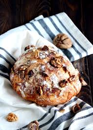 Rustic Fig And Olive No Knead Bread