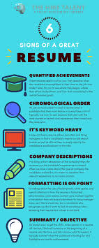 Infographic] Here Are The 6 Signs Of A Great Candidate Resume This Is What A Perfect Resume Looks Like Lifehacker Australia Ive Been Perfecting Rsums For 15 Years Heres The Best Tips To Write A Cover Letter Make Good Resume College Template High School Students 20 Makes Great Infographics Graphsnet 7 Marketing Specialist Samples Expert Tips And Fding Ghostwriter Where Buy Custom Essay Papers 039 Ideas Accounting Finance Cover Letter Examples Creating Cv The Oscillation Band How Write Cosmetology Included Medical Assistant