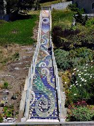 16th Avenue Tiled Steps Project by Hidden Garden Steps Libraries Community And Collaboration