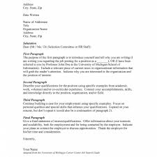 Who To Address Cover Letter To Letters Free Sample Letters