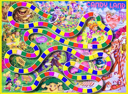 Outline Coloring Attractive Design Ideas Candyland Board Game Path CorelDRAW X6 Graphics Suite Online Games