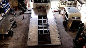 100 Truck Bed Ramp How To Build A Car Hauler Urchfab Welding And