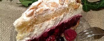 rote grütze baiser torte