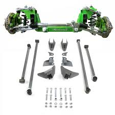 100 Truck Suspension Mustang II 2 IFS Front Rear 13 In Lowering Kit 4754