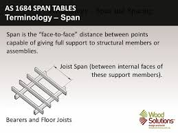 Distance Between Floor Joists by Timber Framing Using As Span Tables Ppt Video Online Download