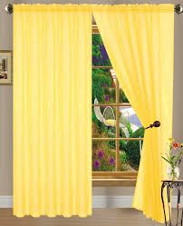 Sheer Voile Curtains Uk by Amazon Com Dpnamron Linda Sheer Voile Panel Curtain Drape 55 X