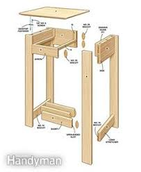 a woodworking beginner can build these free end table plans using