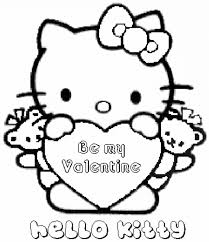 Hello Kitty Coloring Pages Page Christmas