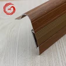 Wood Stair Nosing For Tile by Bullnose Anti Slip Aluminum Stair Nosing For Tile Buy Aluminum