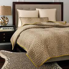 Bed Bathandbeyondcom by Vince Camuto Marseilles Cheetah Coverlet Bedbathandbeyond Com