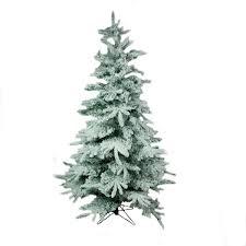 Snowy Alaskan Fir Artificial Christmas Tree