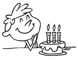 Birthday black and white where to find free birthday clip art