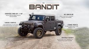 100 4 Door Jeep Truck Wrangler Bandit Custom Conversion Starwood Motors