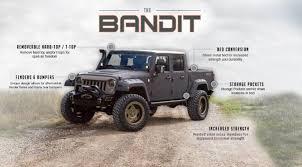 100 Jeep Wrangler Truck Conversion Kit Bandit Custom Starwood Motors