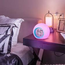 led wecker digital kinder alarmwecker uhr schlafzimmer 7