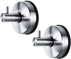 yohom 2 stück vakuum saugnapf haken badezimmer handtuchhaken
