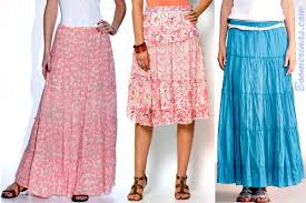 Boho Hippie Skirts For Large Women