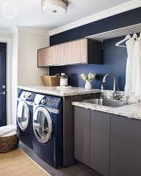 Modern Rustic Laundry Room Design