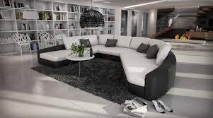 canape panoramique design canapé d angle cuir moderne arc de cercle exclusif rina 1 699 00