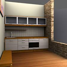Small 3d Kitchen Design Home Christmas Decoration