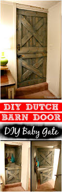 30 Best DIY Baby Gate Tutorials On Cheap Budget | DIY & Crafts Diy Bottom Dutch Door Barn Odworking Dutch Doors Exterior Asusparapc Barn Door Tags Design Gel Stain Garage Large With Hdware Available From Pros Baby Gate The Salted Home How To Make A Interior Hgtv 111 Best Images On Pinterest Children And New England Accsories Exterior For Opening Latest Stair Design Front Rustic Series Mahogany Solid Wood Horse Stall Grills Doors To Build