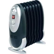 radiateur bain d huile mini 600 w l 28 x h 38 cm castorama