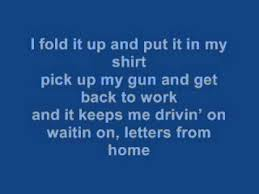 Letters From Home Lyrics John Micheal Montgomery