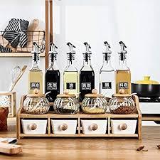 de öl essig flasche set olivenöl spender küche