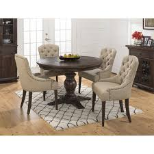 Jofran 678-60B-678-60T+4x678-212KD Geneva Hills Round To Oval ... Amazoncom Coavas 5pcs Ding Table Set Kitchen Rectangle Charthouse Round And 4 Side Chairs Value City Senarai Harga Like Bug 100 75 Zinnias Fniture Of America Frescina Walmartcom Extending Cream Glass High Gloss Kincaid Cascade With Coaster Vance Contemporary 5piece Top Chair Alexandria Crown Mark 2150t Conns Mainstays Metal Solid Wood Round Ding Table Chairs In Tenby Pembrokeshire Phoebe Set Marble Priced To Sell