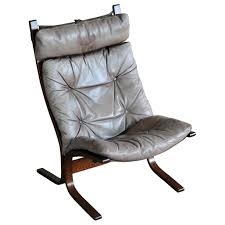 1960s Leather Easy Chairs Model