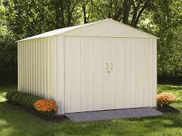 Arrow Woodridge Steel Storage Sheds by Arrow Sheds Shelterlogic Corp Shade Shelter And Storage