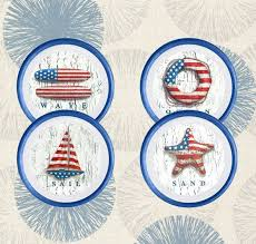 American Flag Decor Style Wall Art Patriotic Home Rustic