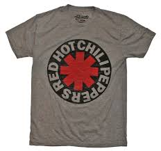 John Frusciante Curtains Zip by Red Chili Peppers Asterisk Circle T Shirt Rock Band Tees