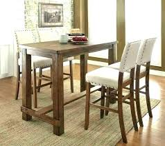 Pub Dining Table Set Bar Height And Chairs Style