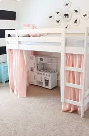 Ikea Bunk Beds With Desk by Diy Loft Bed Diy Tented Loft Bed Young House Love Forums
