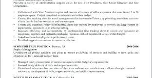 Resume For Unemployed Title Examples Administrative Assistant Best Of Executive Samples E