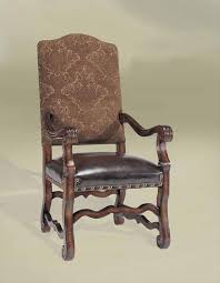 Dining Chairs Rustic Luxury Spanish Style Furniture Arm Chair