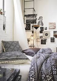 Bedroom Ideas In Black And White Boho Facility Posters