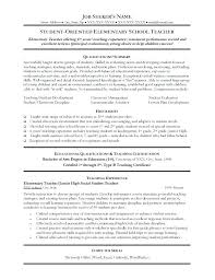 Teacher Resume Examples 2013 Great