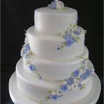 This Inspiration Gallery Has Been Dedicated To Blue Wedding Cakes It Contains Traditional Tiered Cupcake Ideas