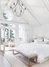 Coastal Cottage Home With A Modern Twist In British Columbia Bench For BedroomBed BenchBedroom BalconyBedroom IdeasAll White