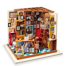 Amazoncom Rolife Mini DIY House KitWoodcraft Construction Kit