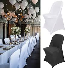 Details About Wholesale 100X Spandex Wedding Folding Chair Covers Universal  Fitted Stretchable