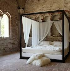 57 4 Poster Canopy Bed Curtains Bedroom Beach