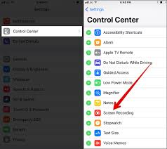 How to Record iPhone Screen in iOS 11
