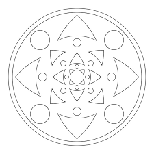 Print Mandala Coloring Pages