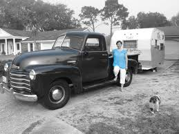 1950 Chevy Truck And Trailer, Vintage Chevy Trucks | Trucks ...