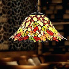style stained glass pendant light hanging ls for sale small