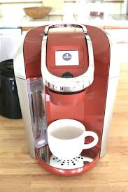 Red Keurig Coffee Maker Design